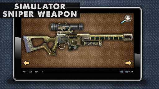 Simulator Sniper Weapon