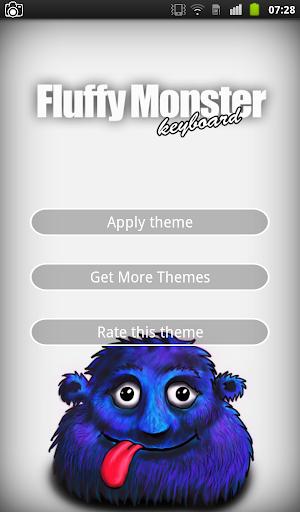 Fluffy Monster Keyboard