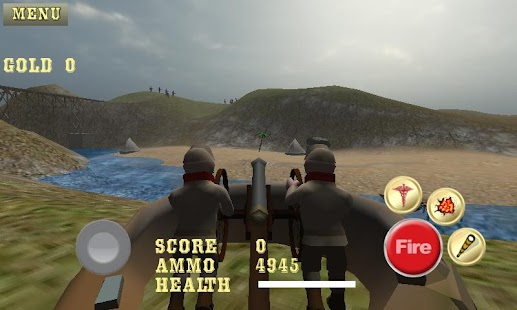 Cannon Shooter : Civil War Pro- screenshot thumbnail
