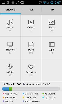 File Explorer - screenshot