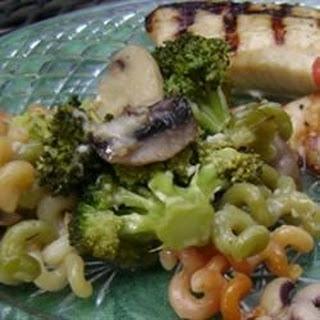 Cavatelli, Broccoli and Mushrooms.