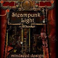 Steampunk Light GOLocker Theme 1.0
