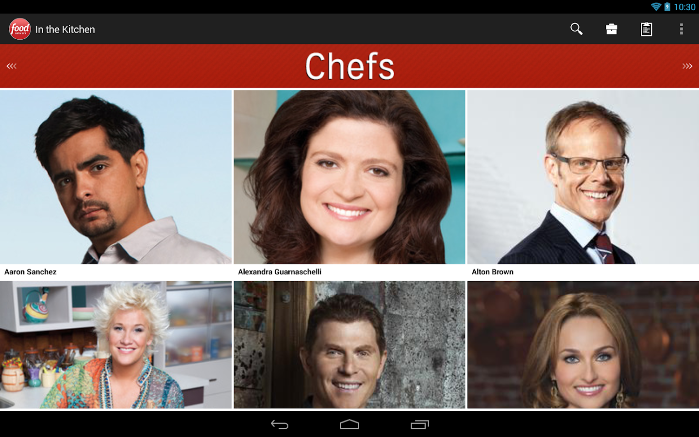 Food Network In the Kitchen - screenshot