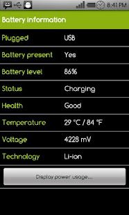 Battery Power Widget - screenshot thumbnail