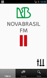 Rádio Nova Brasil FM - screenshot thumbnail