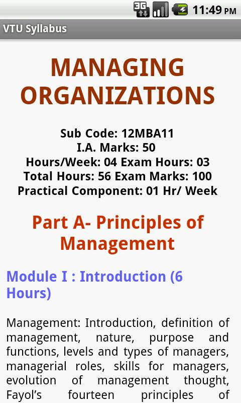 VTU Syllabus - screenshot