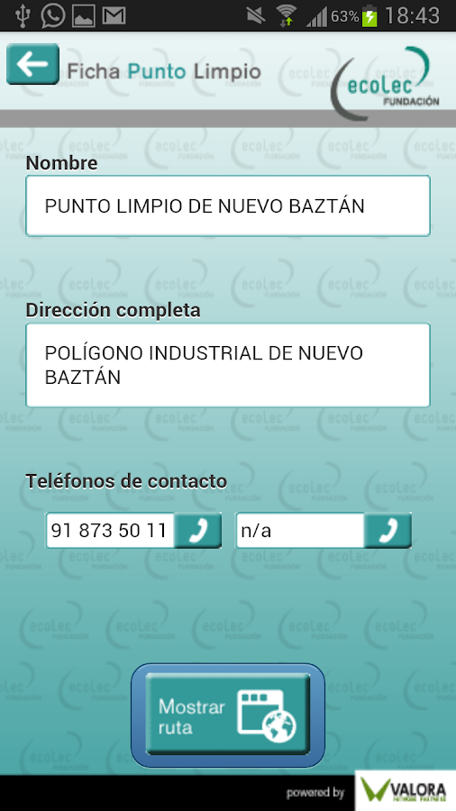 Punto Limpio - screenshot