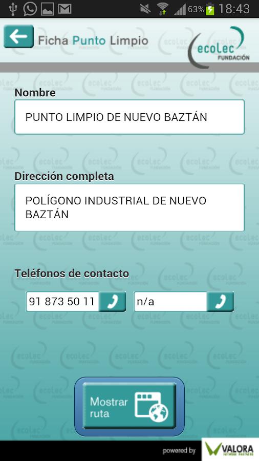 Punto Limpio - screenshot
