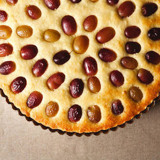 Grape, Almond, and Olive Oil Cake.
