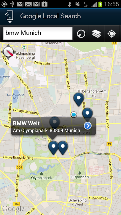 My BMW Remote - screenshot