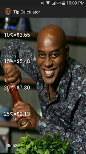 Ainsley Harriott TipCalculator