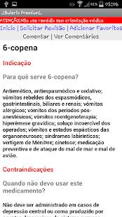 Bulário Bulas Remédios PREMIUM - screenshot thumbnail