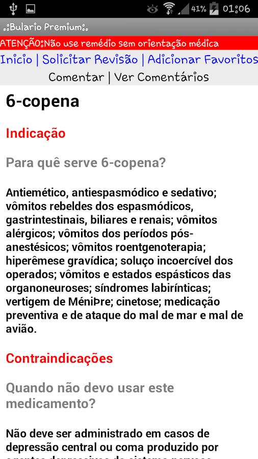 Bulário Bulas Remédios PREMIUM - screenshot