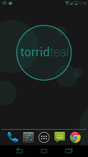 Torrid Teal CM10 Theme