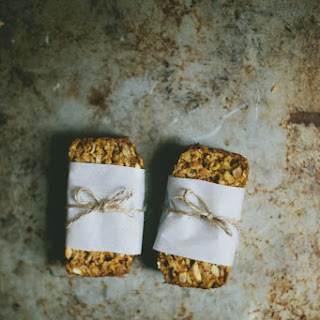 Soft Pumpkin Granola Bars.