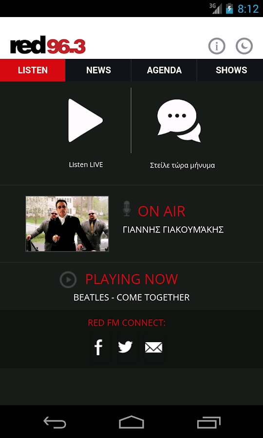 RED 96.3 - screenshot