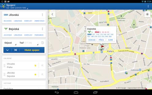 Offline Jízdní řády CG Transit Screenshot 29