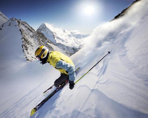 戶外滑雪拼圖