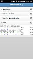 Screenshot of Indian Rail / Train - eRail.in