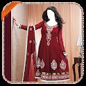 Salwar Suit photo making icon