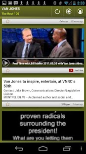 Van Jones: The Root 100 - screenshot thumbnail
