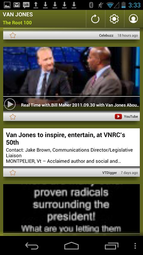 Van Jones: The Root 100 - screenshot