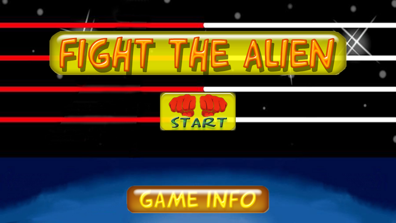 Fight The Alien - screenshot