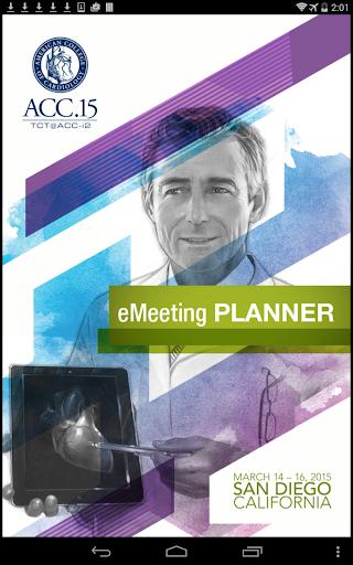ACC.15 eMeeting Planner