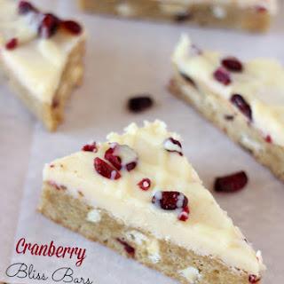 Cranberry Bliss Bars {Starbucks Copycat}