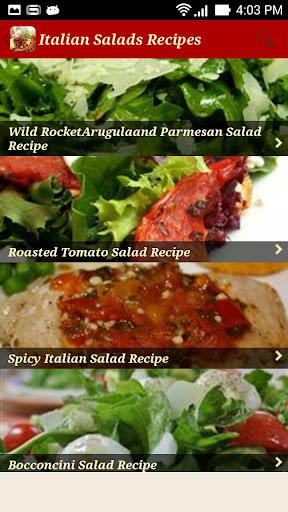 Italian Recipes easy lOl