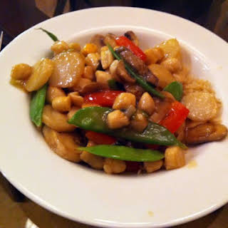 Chinese Scallop Stir Fry.