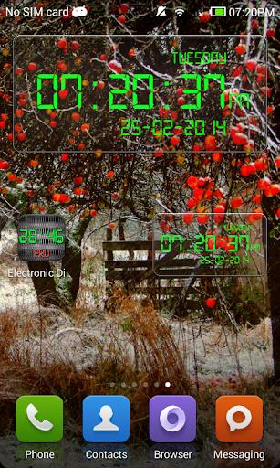 Electronic Digital Clock PRO