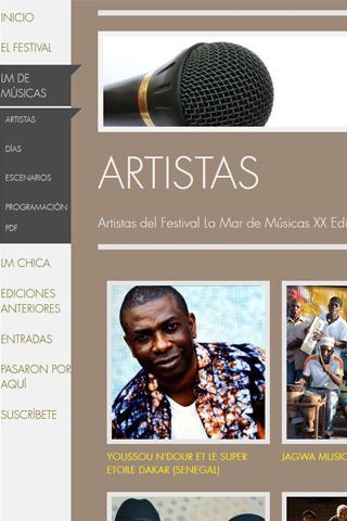 【免費通訊App】La Mar de Músicas Cartagena-APP點子