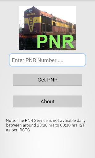 Train PNR