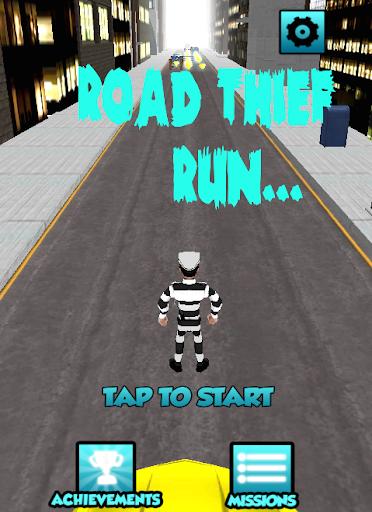Road Thief Run