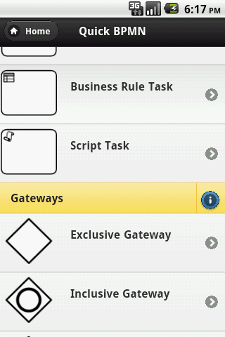 Quick BPMN 2.0 - screenshot