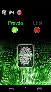 Detektor lži - Simulátor - náhled