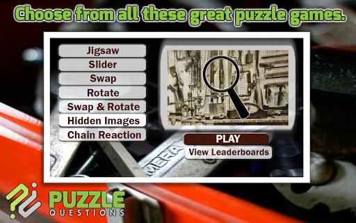 Tools Puzzle Games