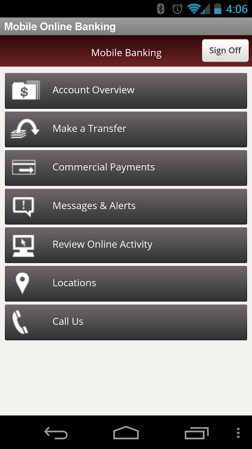 TCBWA Mobile Banking - screenshot