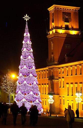 クリスマスツリーの壁紙