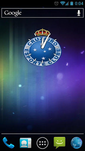 Clock Cruzeiro JMC.
