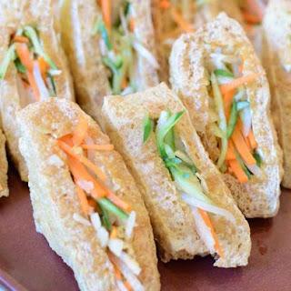 Tauhu Sumbat - Veggie Stuffed Tofu