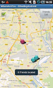 FriendsLocator screenshot 1