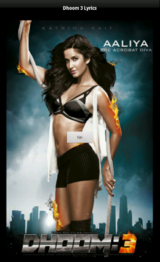 Dhoom 3 Lyrics - screenshot