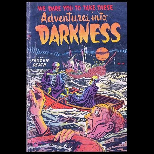 Adventures Into Darkness # 14 LOGO-APP點子