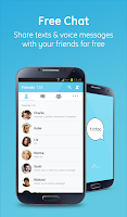 Screenshot of Tictoc - Free SMS & Text