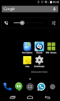 Screenshot of BlackedOut CM11/10 Theme