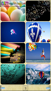 玩攝影App|五顏六色的背景免費|APP試玩