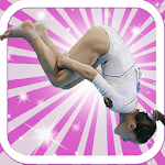 American Front-Flip Gymnastic