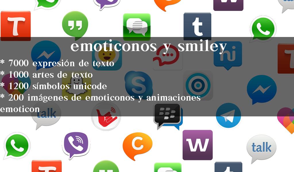 Emoticon Smiley Para Chatear Aplicaciones De Android En